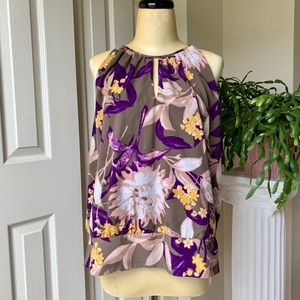 Ann Taylor XL gorgeous and classy sleeveless top